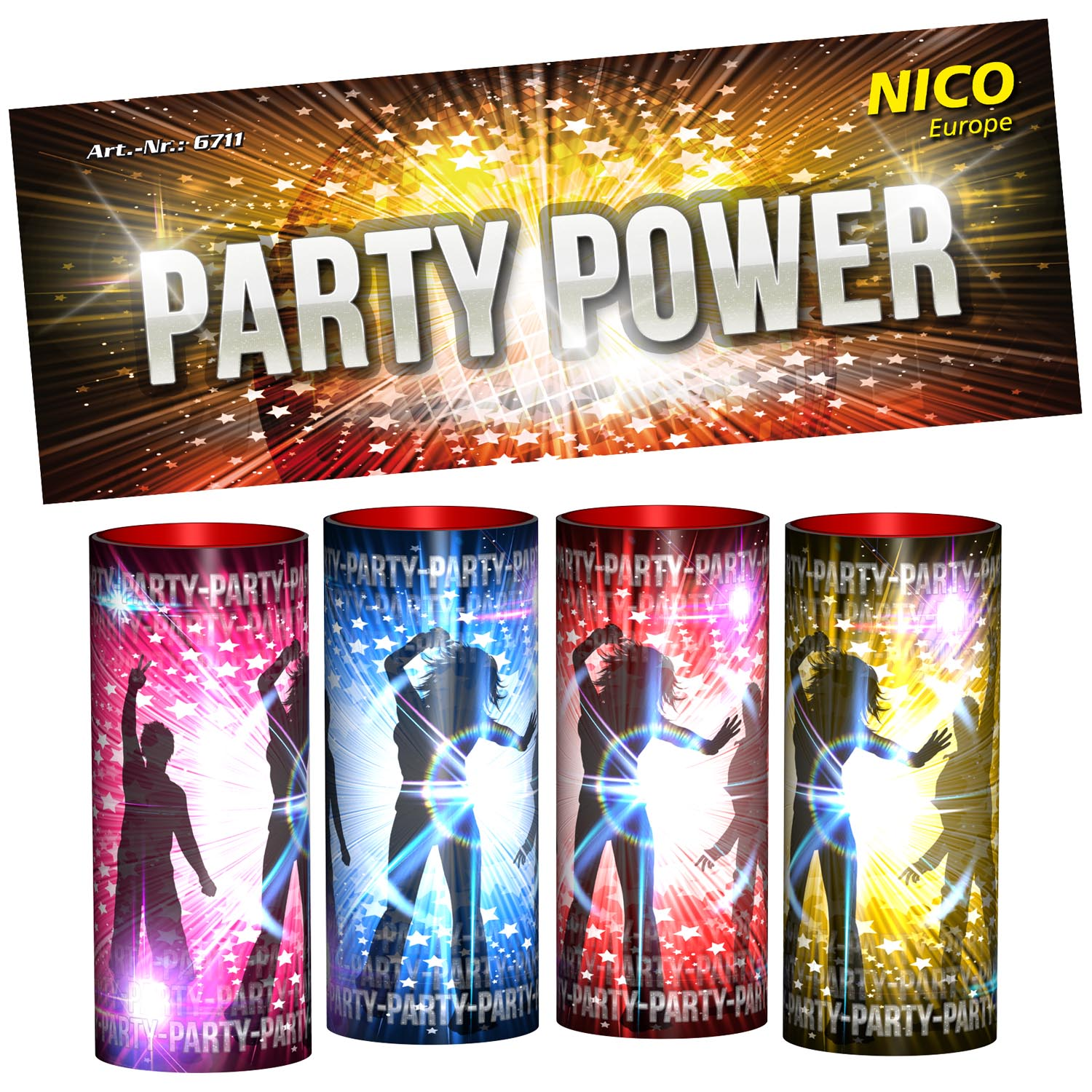 Party Power, 4er-Btl.