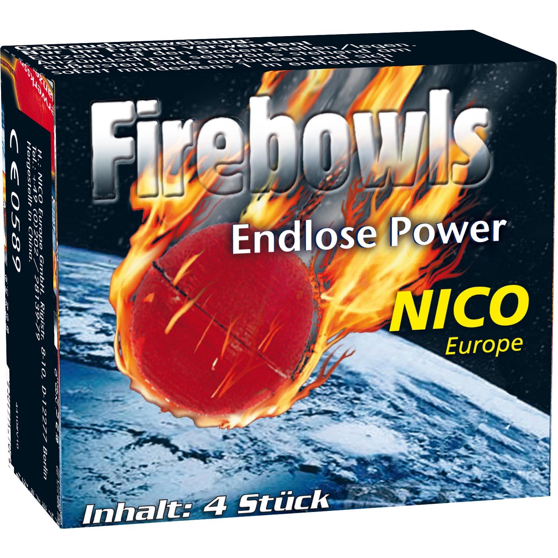 Firebowls, 4er-Schtl.