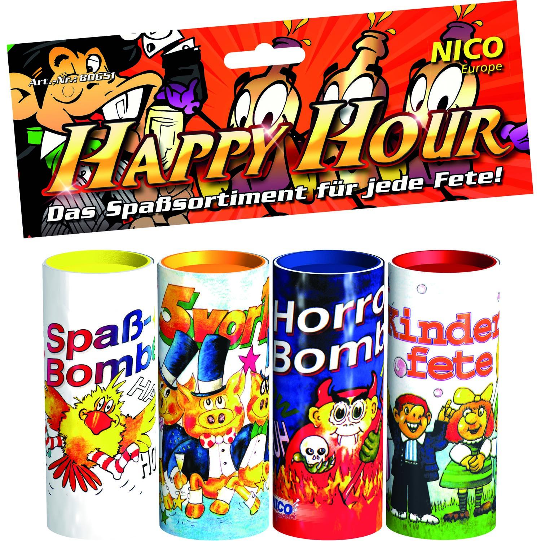 Happy Hour 4er Tischbomben Sortiment